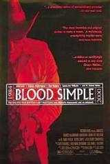 Locandina del film BLOOD SIMPLE - SANGUE FACILE