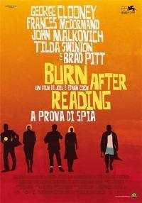 Locandina del film BURN AFTER READING - A PROVA DI SPIA