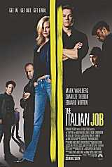Locandina del film THE ITALIAN JOB