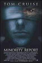 Locandina del film MINORITY REPORT
