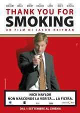 Locandina del film THANK YOU FOR SMOKING