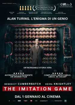 Locandina del film THE IMITATION GAME - L'ENIGMA DI UN GENIO