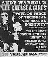 Locandina del film THE CHELSEA GIRLS
