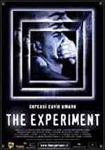 Locandina del film THE EXPERIMENT - CERCASI CAVIE UMANE