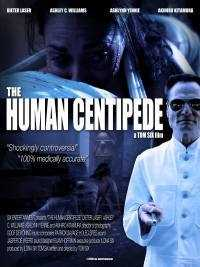 Locandina del film THE HUMAN CENTIPEDE