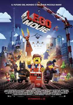 Locandina del film THE LEGO MOVIE