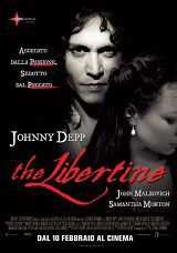 Locandina del film THE LIBERTINE