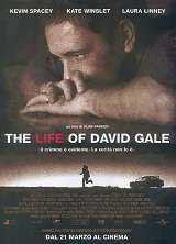 Locandina del film THE LIFE OF DAVID GALE